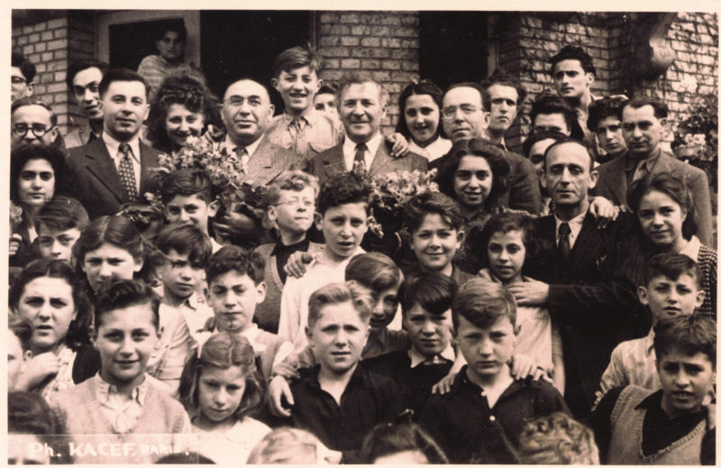 Jewish Orphanage at Andresy France