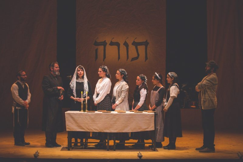 Fiddler in Yiddish