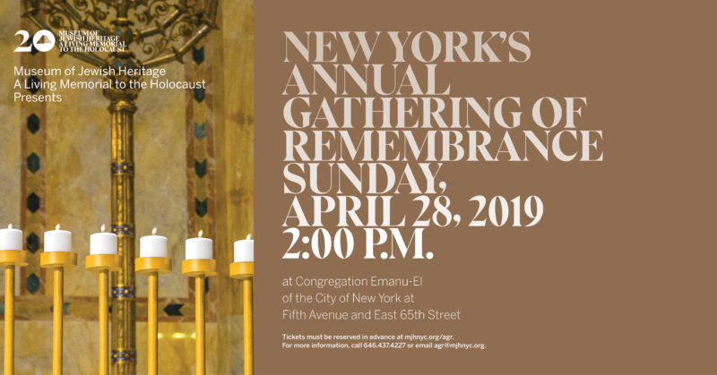 Annual Gathering of Remembrance