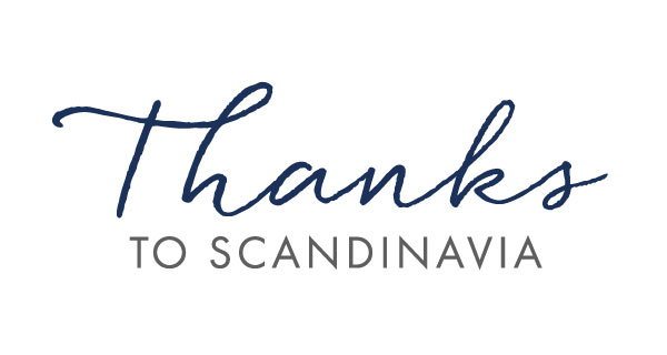 Thanks to Scandinavia