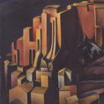 Olevano painting