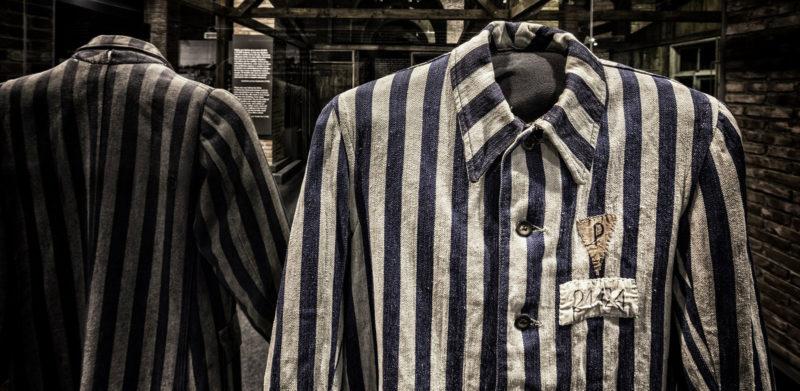 Prisoner Uniform Auschwitz Traveling Exhibition