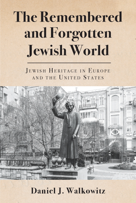 Remembered and Forgotten Jewish World book cover