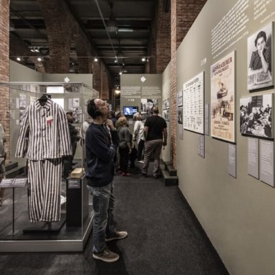 Auschwitz  Not long ago  Not far away  at the Museum of Jewish Heritage