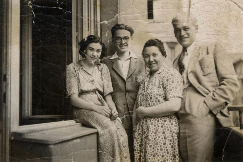 A Jewish Family in Budapest, 1944