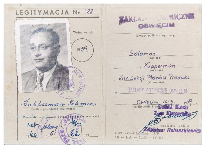 Salomon Kupperman's work papers, 1959-62