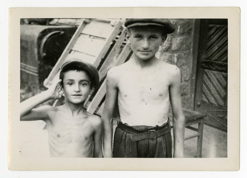 Two Young Brothers at Liberation