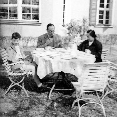 Richard, Margot and Walter Faerber on Vacation, 1920s