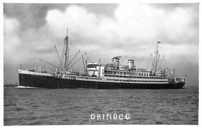 SS Orinoco.