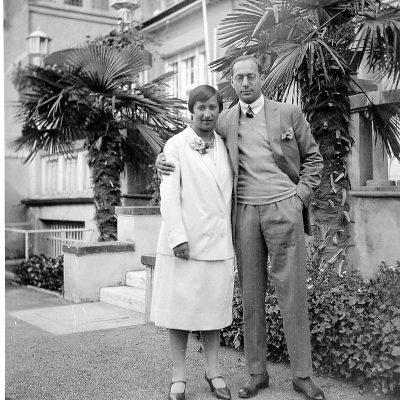 Margot and Richard Faerber in Havana, 1938-39.