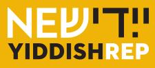 New Yiddish Rep logo