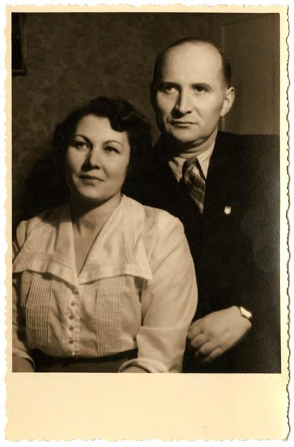 Henryk Wieliczanski and Teodozja Maria nee Zwolinska Wieliczanski
