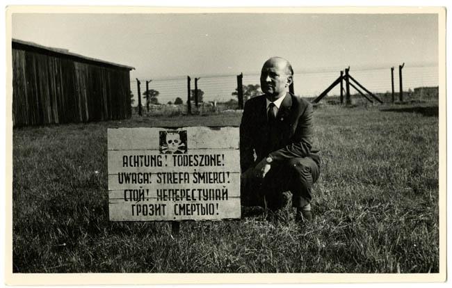 Dr. Henryk Wieliczanski at Majdanek reunion
