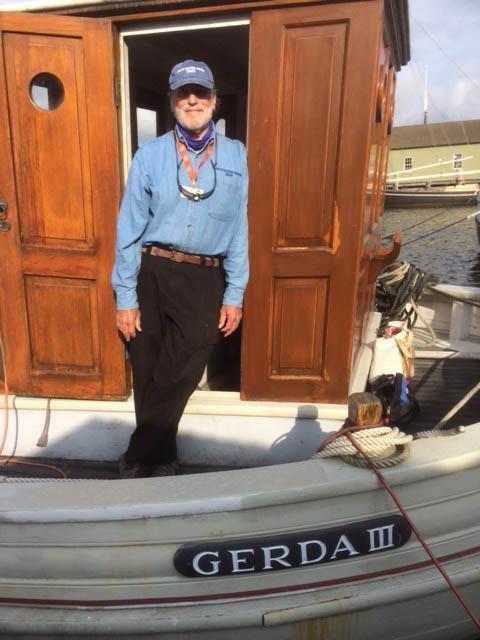 Gerda III Volunteer Howard Veisz