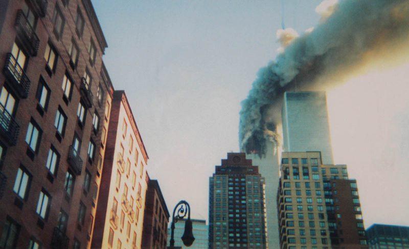 Battery Park City on 9/11