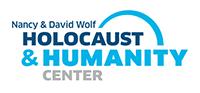 Nancy & David Wolf Holocaust & Humanity Center logo