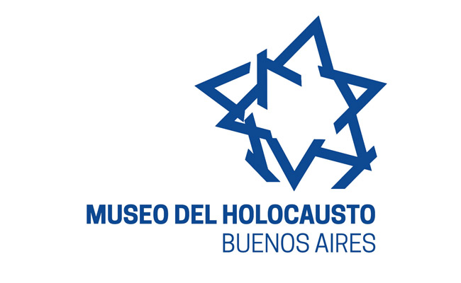 Logo of the Museuo ded Holocausto Buenos Aires