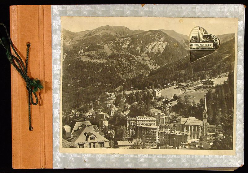 Photograph album of scenes at Bad Gastein DP Camp, 1946.