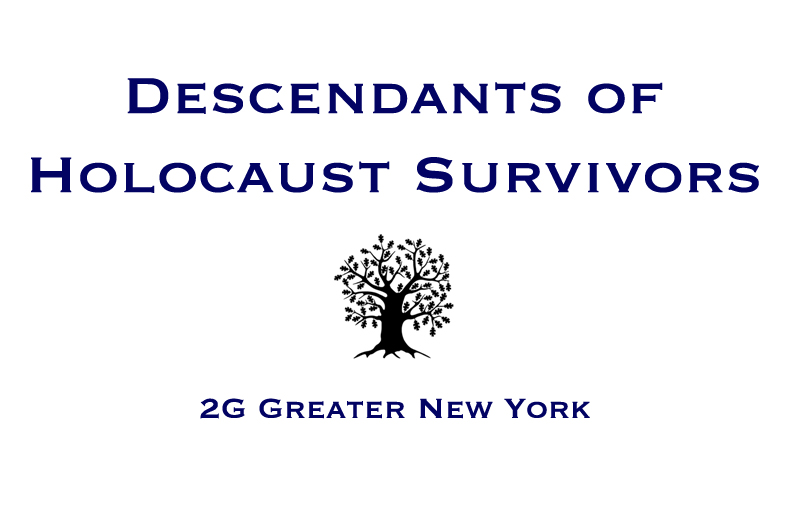 Descendants of Holocaust Survivors 2GNY logo