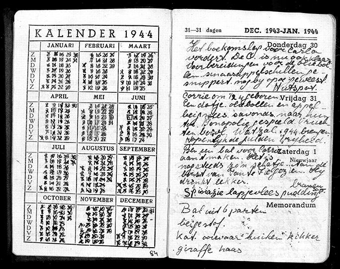Diary of Anita Meyer, 1944