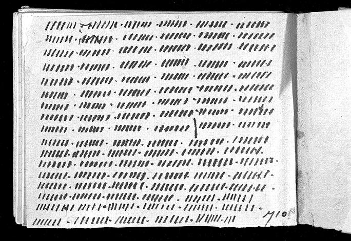 Diary of Anita Meyer, 1944. G