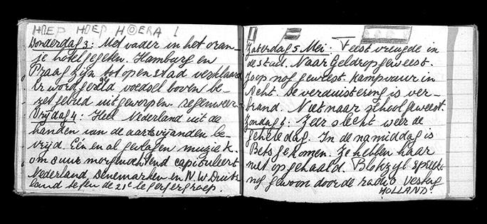 Diary of Anita Meyer, 1945