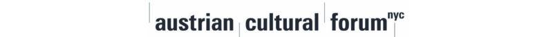 Austrian Cultural Forum horizontal logo