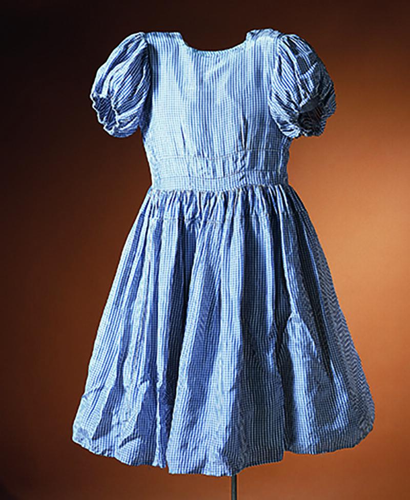 Frania Bratt Blum's liberation dress