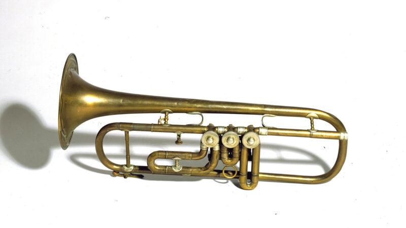 Louis Bannet's trumpet
