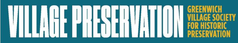 Greenwich Village Historic Preservation Society logo