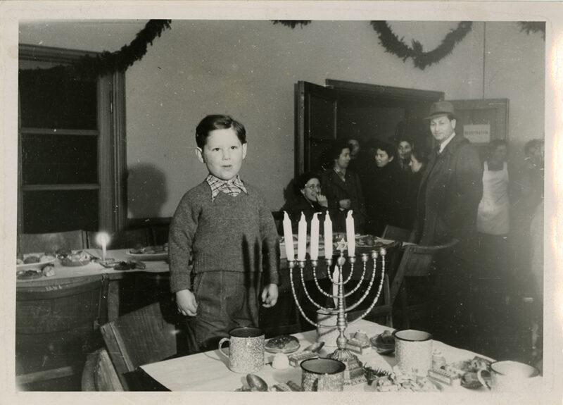 Hanukkah Celebration at Bergen-Belsen DP Camp, 1945-1948