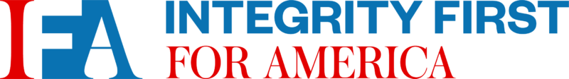 Integrity First for America logo