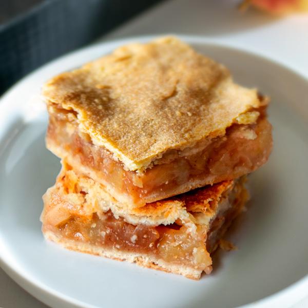 Florence Tabrys' Polish Apple Cake