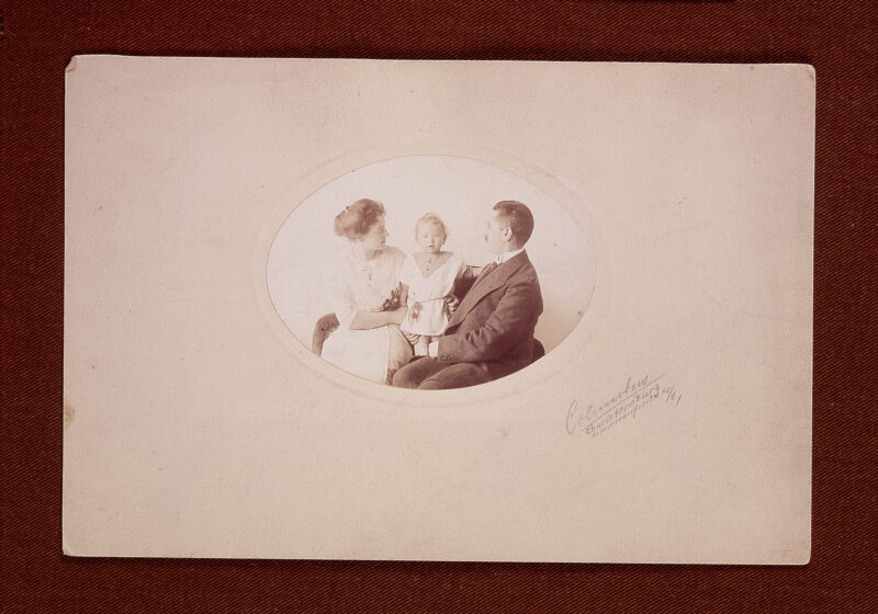 Jonas and Selma Plaut with son W. Gunther Plaut