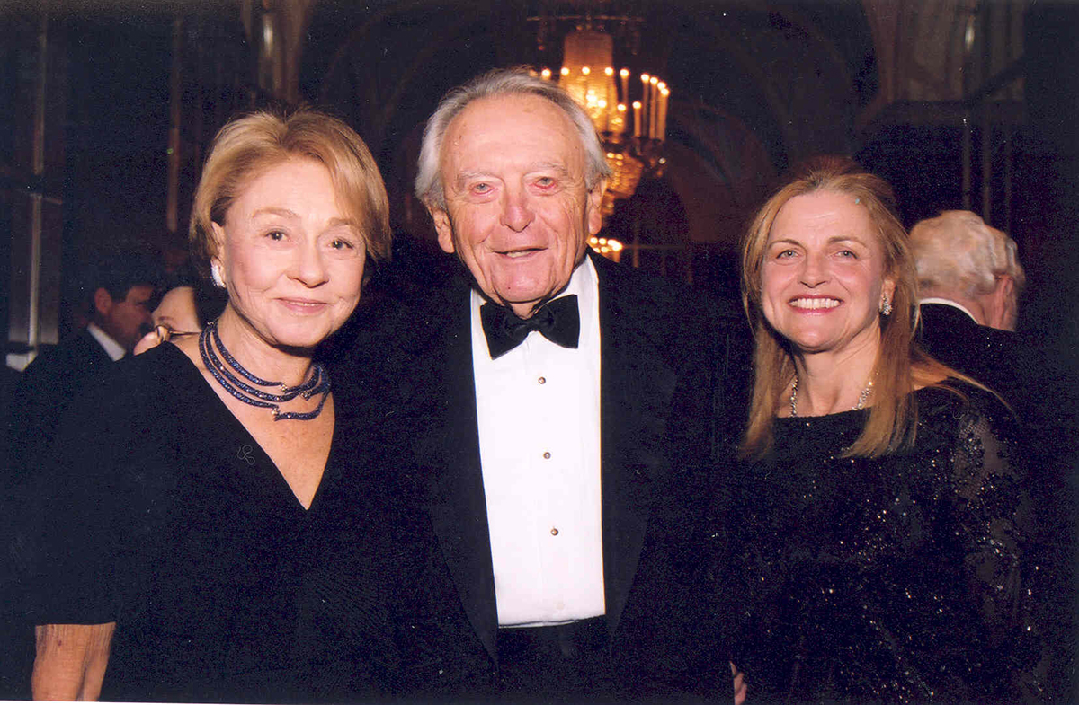 Gladys, Morton, and Teresa Pickman at a Museum Heritage Dinner