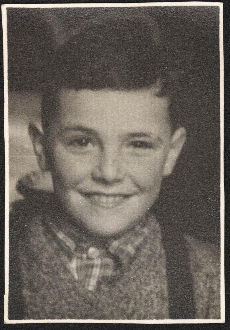 Jan Braun at age 10